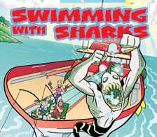 Ben 10: Swimming with Sharks