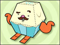 Mr. Cupcake Paper Toy