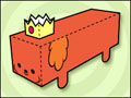 Hot Dog Princess Paper Toy