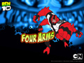 Wallpaper Four Arms