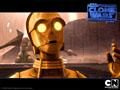 Wallpaper C-3PO - Goldenrod