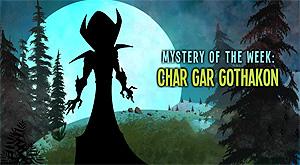 Crystal Cove Online: Char Gar GoThakon